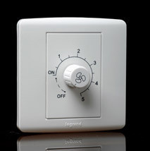 Legrand Wall Switch(S) Fan Regulator