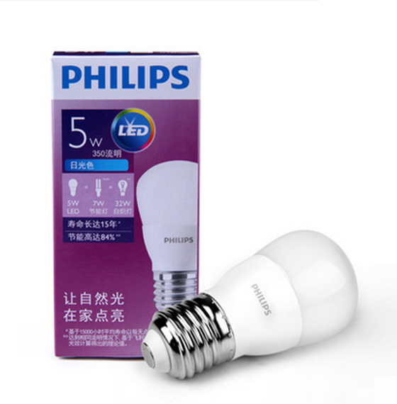 PHILIPS LED Lamps E27 3.5W、5W、8W、9W、13W